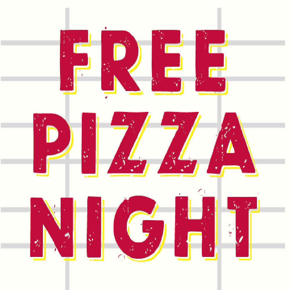 free pizza night