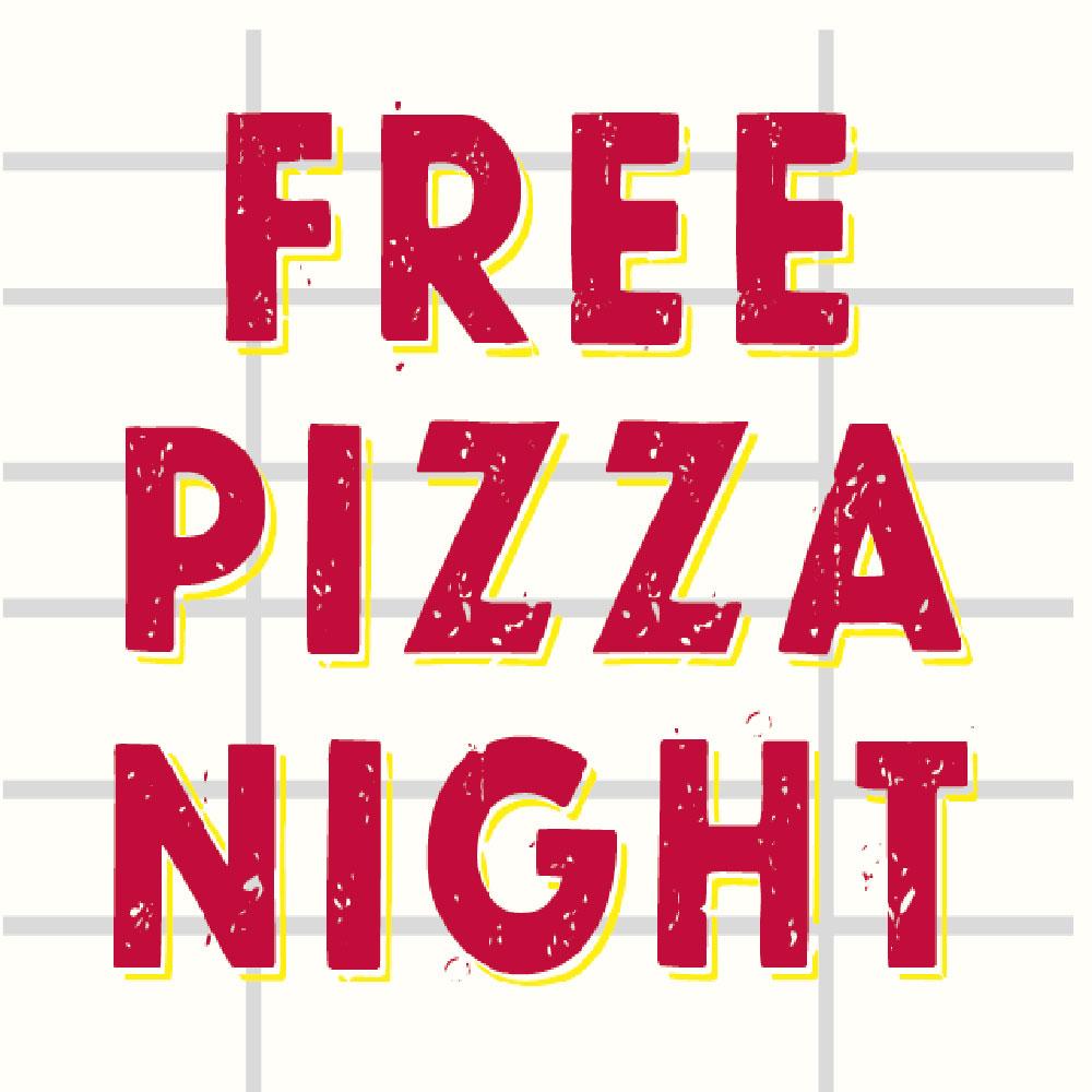 free pizza night